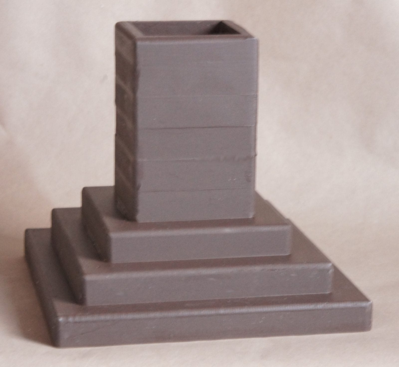 3x3 Pocket, 8 Inch Lift Height, Brown Espresso