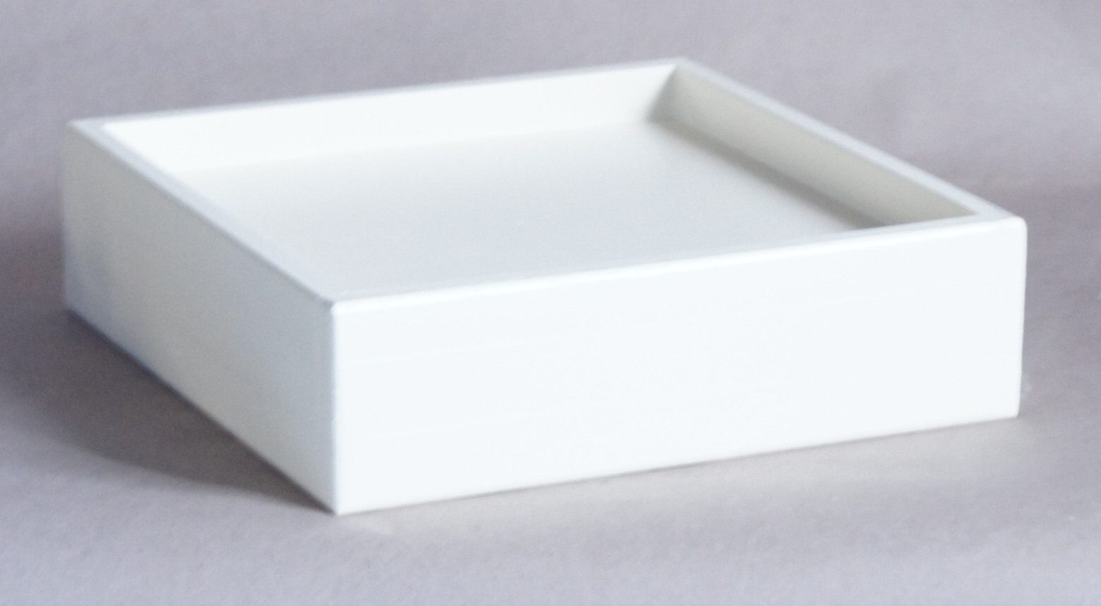 9x9 Pocket, 2 Inch Lift Height, White Antique