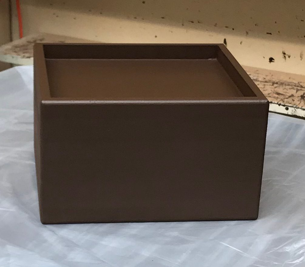 9x9 Pocket, 5 Inch Lift Height, Brown Espresso